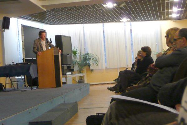 Sensibilisation au handicap avec l'Institut Pasteur au Nouveau Siècle à Lille