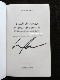 Guide de survie dedicace