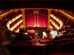 Paradis du Royal Opera House Londres
