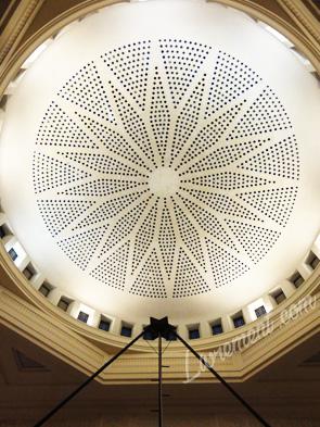 Nuit de la lecture 2018 Bibliothèque d'étude et du patrimoine à Toulouse, dome de la grande salle
