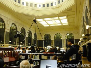 Nuit de la lecture 2018 Vue d'ensemble de la bibliothèque d'étude et du patrimoine de Toulouse