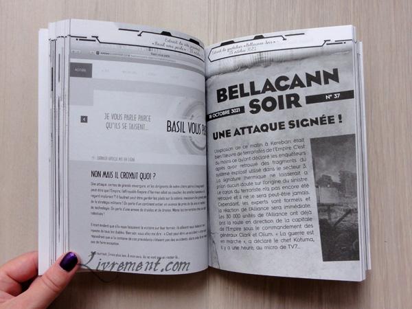 Extrait de la gazette dans Kereban, livre de Dario Alcide