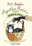 Couverture du roman Remède de Cheval de M.C. Beaton, une enquête d'Agatha Raisin