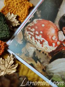 Livre Baltimore et Redingote de Moguérou et Monge : gros plan sur la texture du champignon