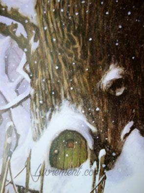 Livre Baltimore et Redingote de Moguérou et Monge : gros plan sur l'écorce d'un arbre