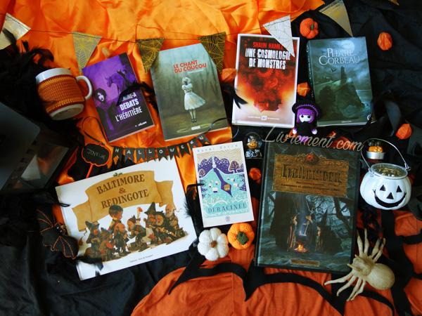 Les livres que j'aimerais découvrir durant le challenge Halloween 2019