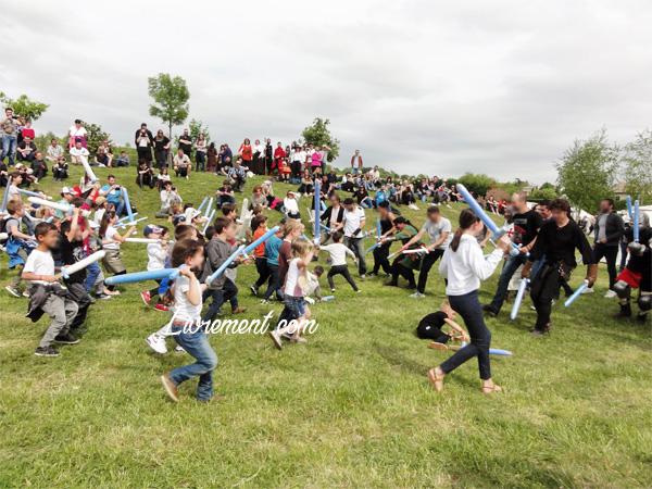 Festival Echos et Merveilles - Rencontre des deux camps durant la bataille