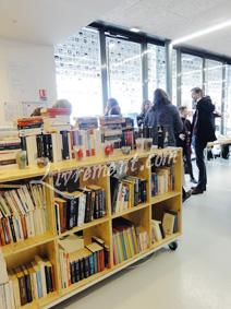 Point accueil du salon L'imagina'livres à Toulouse en 2018