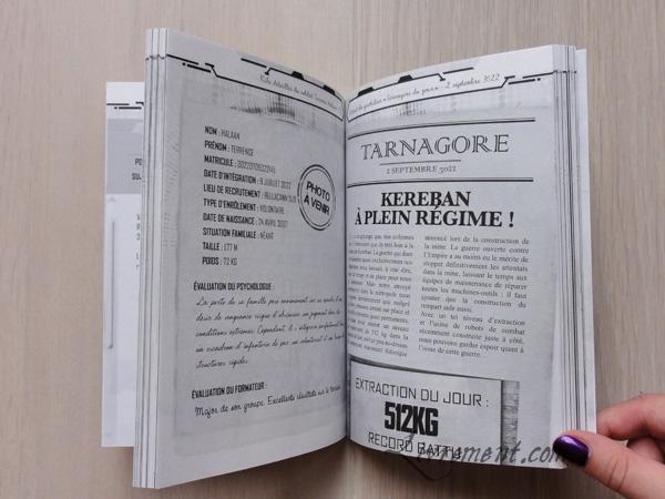 Kereban, extrait de la fiche d'un soldat