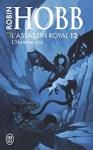 """Couverture du roman """"L'homme noir"""" de Robin Hobb, tome 12 de la série L'assassin royal"""