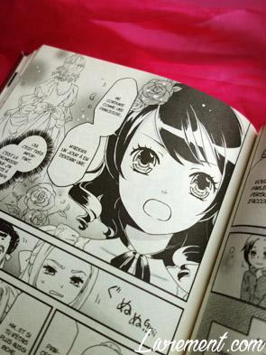"manga ""La petite princesse Sara"" : extrait Sara richement vêtue"