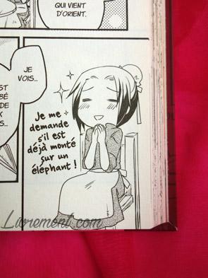 "manga ""La petite princesse Sara"" : extrait Sara rêve"