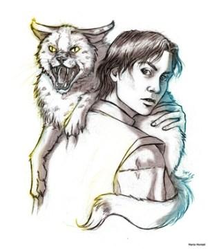 Fan art du Prince Devoir et de sa marguette pour le tome 8 de l'assassin royal de Robin Hobb