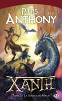 """Couverture du livre """"La source de magie"""" écrit par Piers Anthony (série Xanth, tome 2) publié aux éditions Bragelonne"""