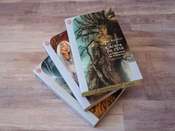 Les trois tomes de la tapisserie de fionavar de Guy Gavriel Kay