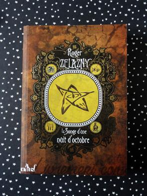 Le songe d'une nuit d'octobre de Roger Zelazny, couverture d'actuSF
