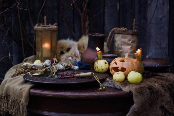 Le songe d'une nuit d'octobre de Roger Zelazny : préparation du rituel