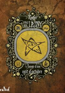 """Couverture du livre """"Le songe d'une nuit d'octobre"""" de Roger Zelazny, réédition chez ActuSF"""