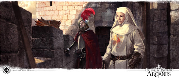 """Illustration de Loïc Muzy de la trilogie """"Les lames du Cardinal"""" de Pierre Pevel"""