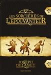Couverture du recueil de nouvelles Les Sorcières de l'Épouvanteur de Joseph Delaney