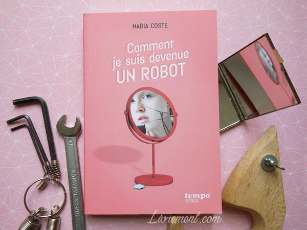 """Mise en scène du livre """"Comment je suis devenue un robot ?"""" de Nadia Coste"""
