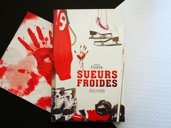 Mise en scène de roman Sueurs froides de Nadia Coste