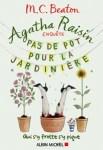 Couverture du roman Pas de pot pour la jardinière de M.C. Beaton, tome 3 d'Agatha Raisin enquête
