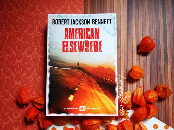 """Photographie du roman """"American Elsewhere"""" que j'ai lu dans le cadre du défi Valériacr0"""