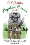Couverture du roman Pour le meilleur et pour le pire de M.C. Beaton, tome 5 d'Agatha Raisin enquête