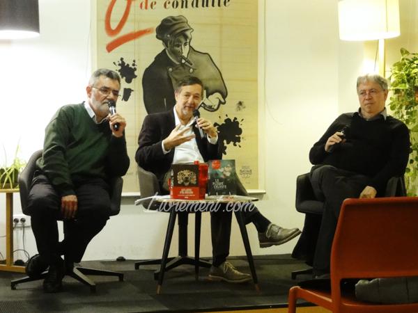 Rencontre Guy Gavriel Kay, Jean-Claude Dunyach et Jean-Daniel Brèque