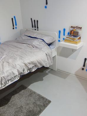 Exposition Va dans ta chambre ! chambre de Sylvie Corroler