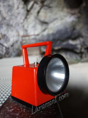 Lampe pour visiter les grotte de Niaux