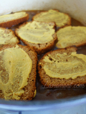 Carbonade Flamande avec les tranches de pain d'épices