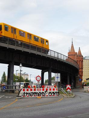 Tramway et Oberbaumbrücke