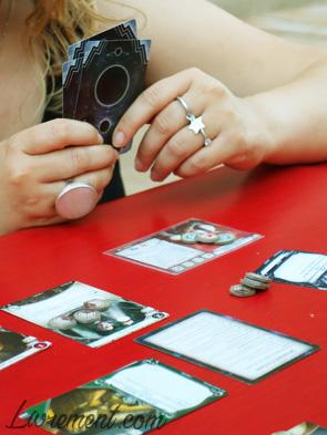 Partie d'Horreur à Arkham, le jeu de cartes