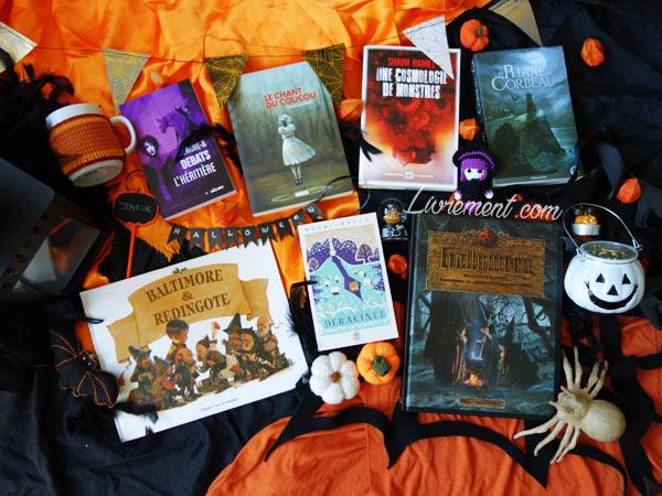 Préparation de ma liste de livres à lire pour Halloween