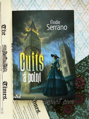 Livre Cuits à point d'Elodie Serrano