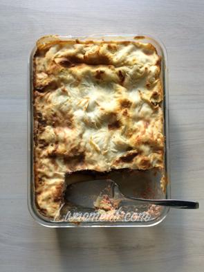 Lasagnes en plat