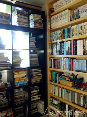bibliothèques réunies lors des travaux