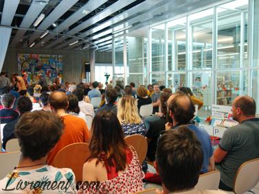 Salle comble pour Alain Damasio à Toulouse