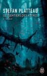 """Couverture du roman """"Shakti"""" de Stefan Platteau paru aux éditions J'ai Lu. Tome 2 de la série """"Les sentiers des Astres"""""""