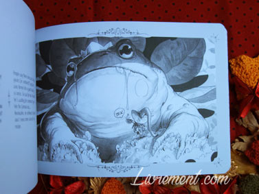 Botanica collecte la bave de crapaud dans The Little Witches Exodus de Xavier Collette