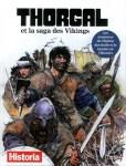 Couverture du hors série de Historia : Thorgal et la saga des Vikings