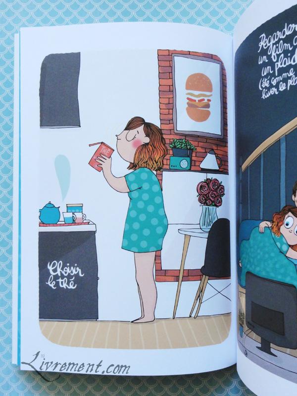 Page Choisir le thé de Tout plaquer et aller prendre un bain par Mathou