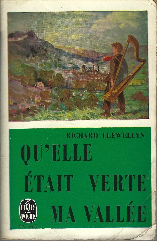 Qu'elle était Verte Ma Vallée : qu'elle, était, verte, vallée, Qu'elle, Verte, Vallée, Librairie, D'occasion, Ligne, Livr'Ensemble