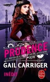 Gail Carriger - Le protocole de la crème anglaise - T1 - Prudence (2015)