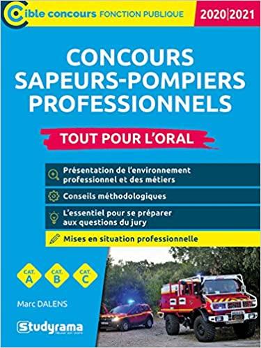 Concours Sapeur Pompier Professionnel 2020 : concours, sapeur, pompier, professionnel, Concours, 2020/2021, Sapeur-pompier, Professionnel, Livres, Fonction, Publique, Librairie, Candidats