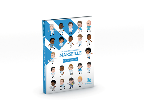 Les légendes du football - Marseille