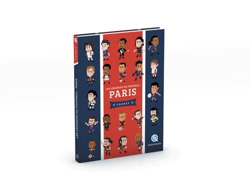 Les légendes du football - Paris