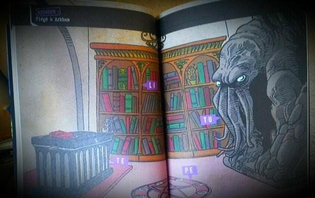 Escape Game Poche Piege A Arkham Livres Jeux